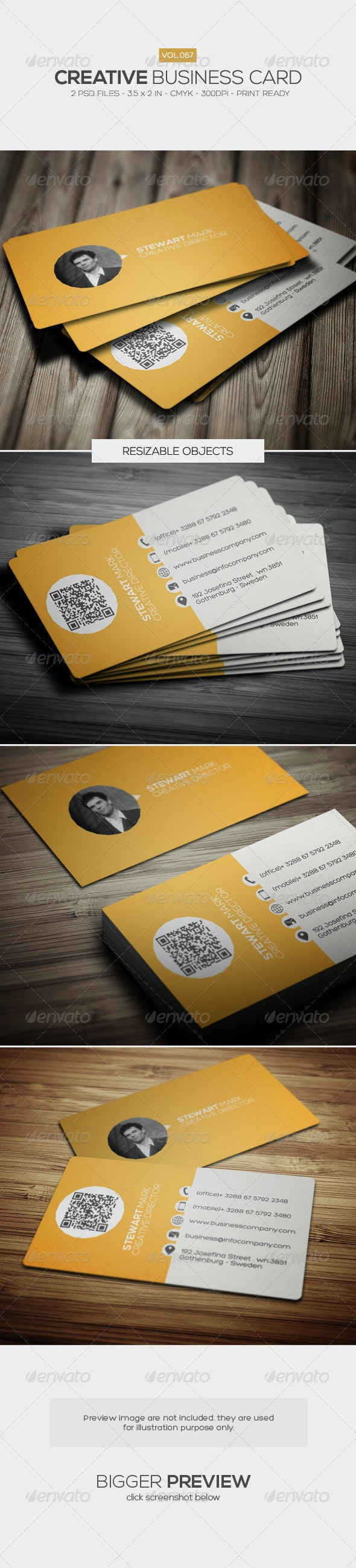 Creative Business Card 067 - Creative Business Cards