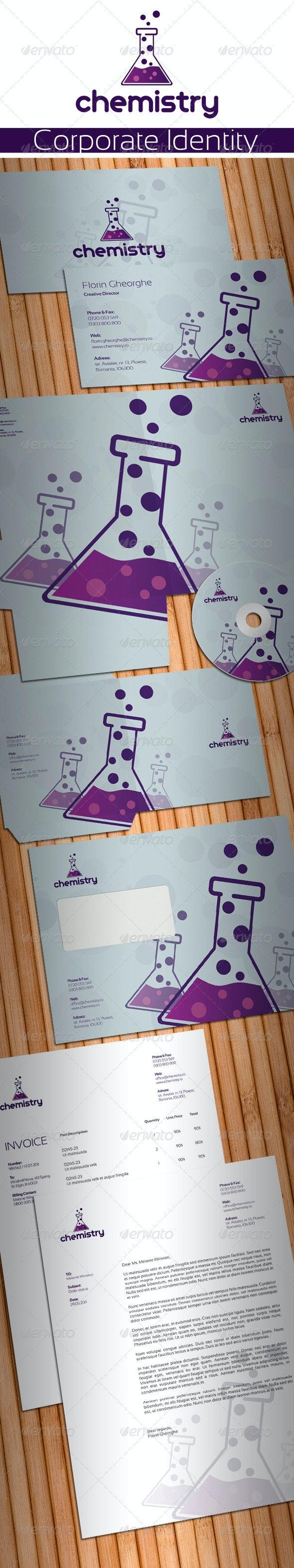Chemistry Laboratory Stationery - Stationery Print Templates