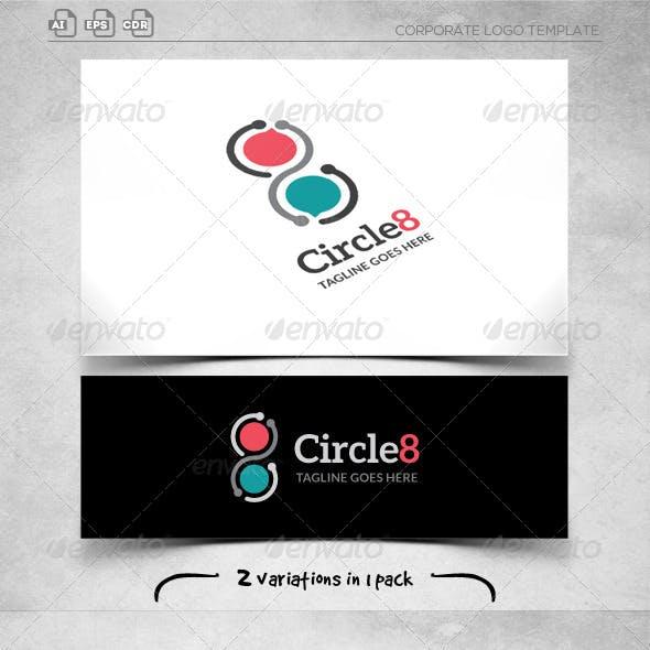 Circle 8 - Logo Template