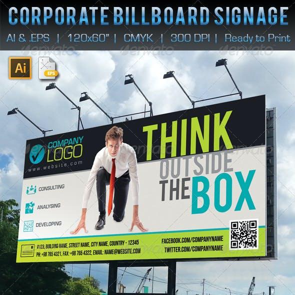 Corporate Business Billboard Signage