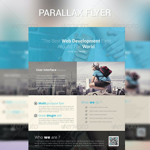 Parallax Modern Corporate Flyer