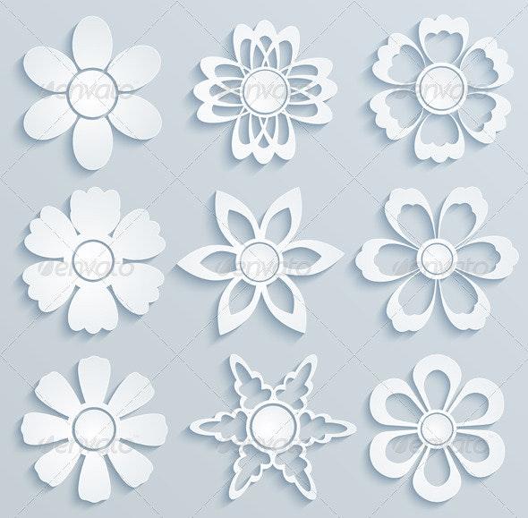 Paper Flowers. - Flowers & Plants Nature
