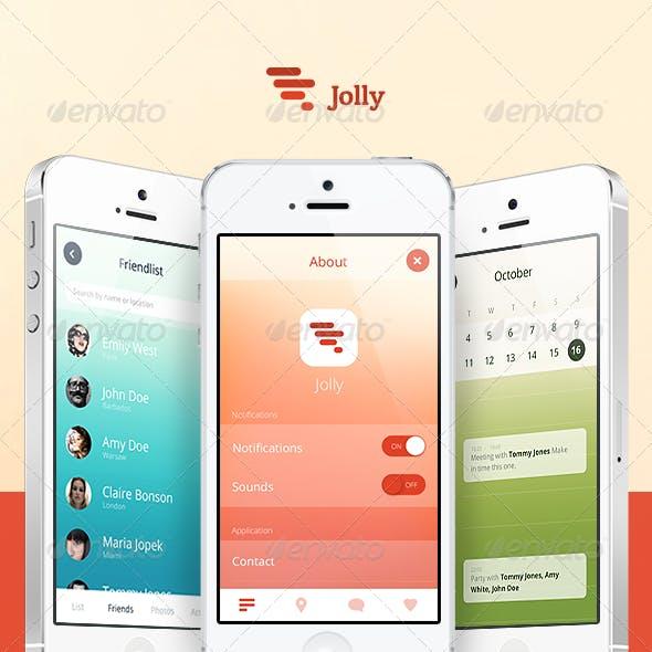 Jolly Mobile UI Set