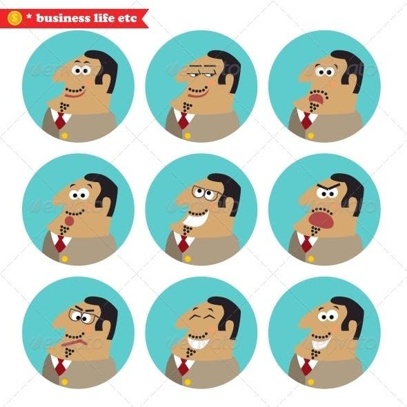 Boss Facial Emotions