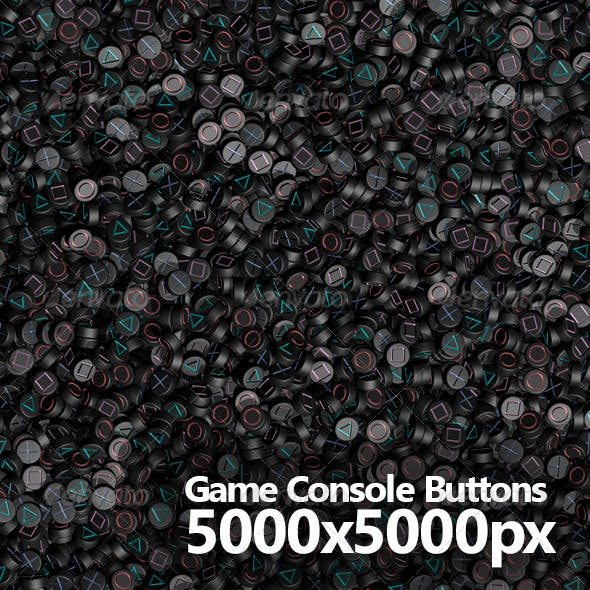 Game Console Buttons Background
