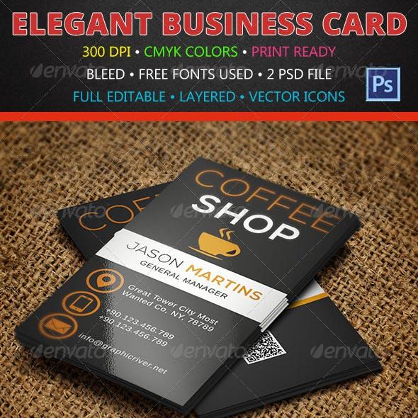 Coffee Business Card 137
