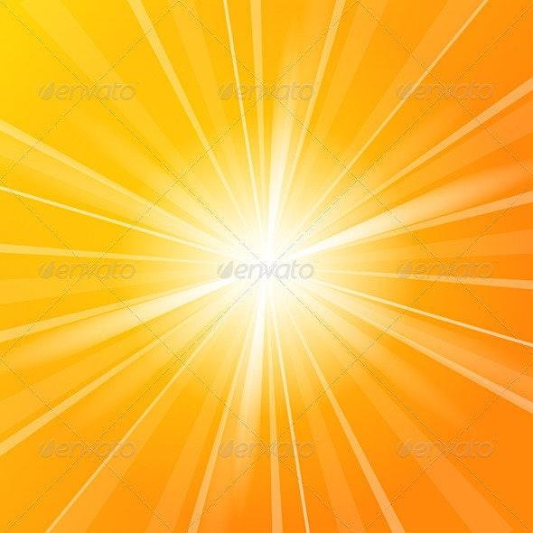 Sunshine vector background - Backgrounds Business