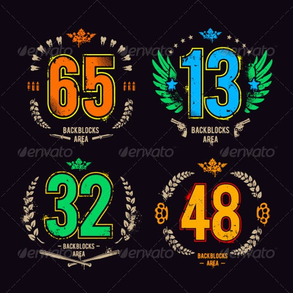 Grunge Gangster Lucky Numbers