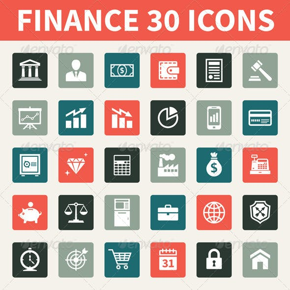 Finance 30 Icons