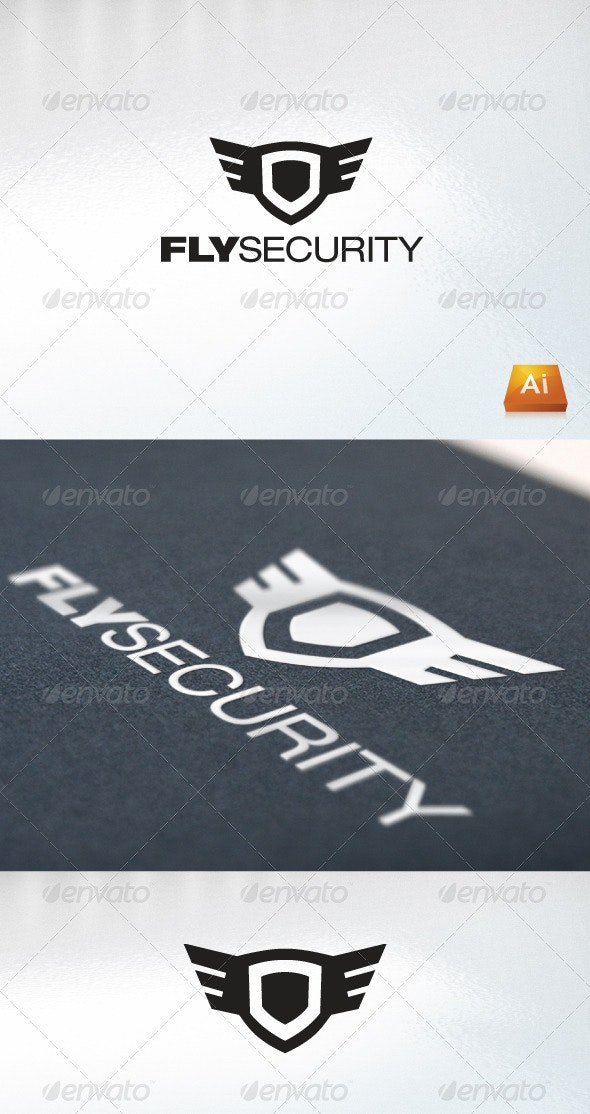 FlySecurity - Abstract Logo Templates