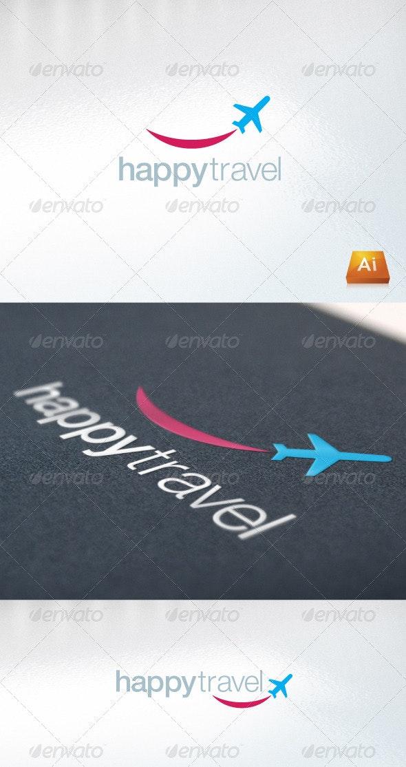 Happytravel - Abstract Logo Templates