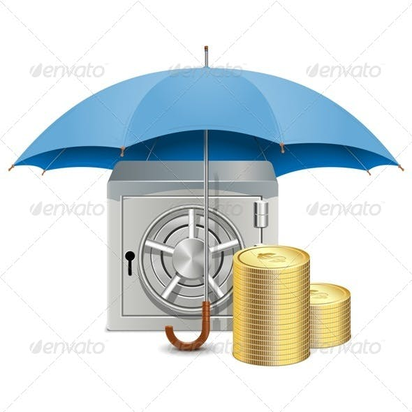 Vector Umbrella and Safe
