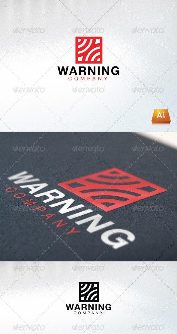 Warning Company - Company Logo Templates