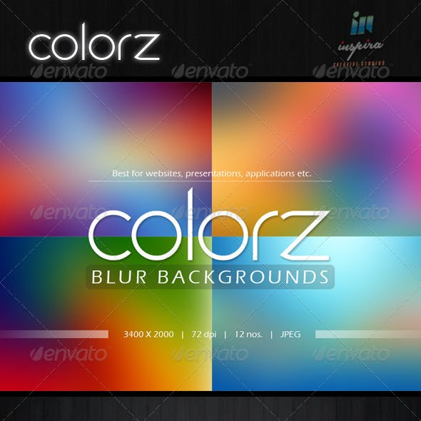 Colorz Blur Backgrounds