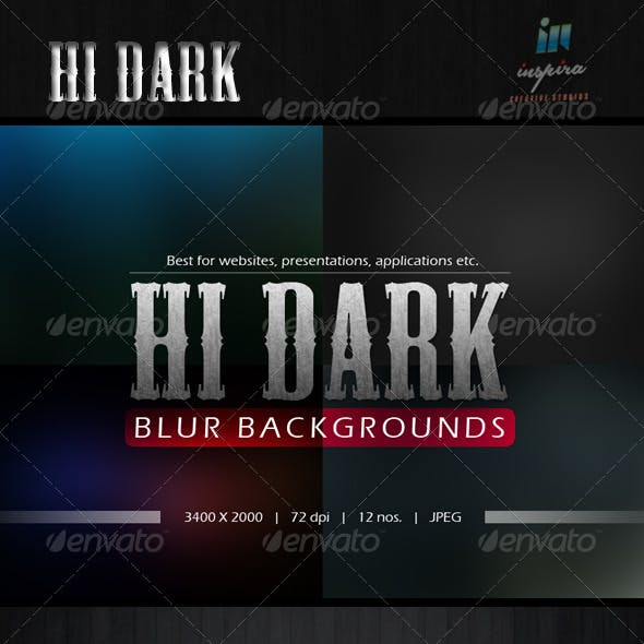 Hi Dark Blur Backgrounds