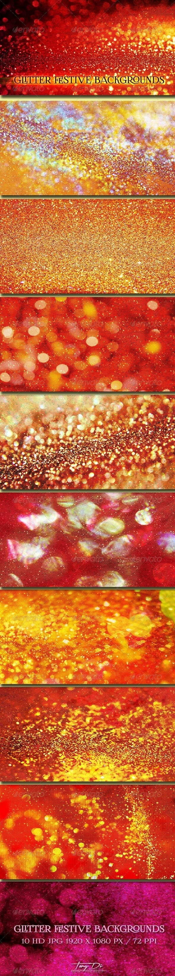 Glitter Festive Backgrounds - Miscellaneous Backgrounds
