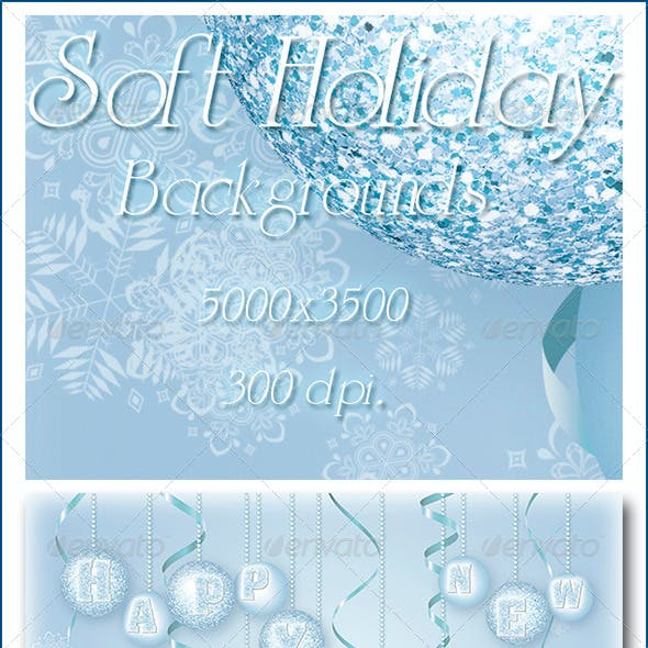 Soft Holiday Backgrounds