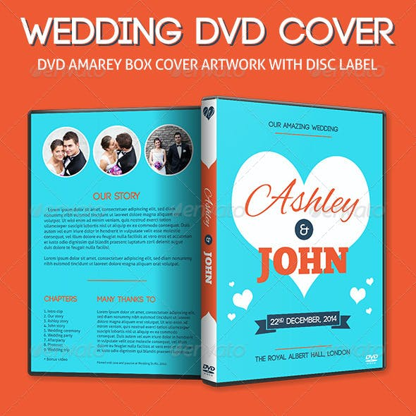 Our Amazing Wedding - DVD Cover Artwork