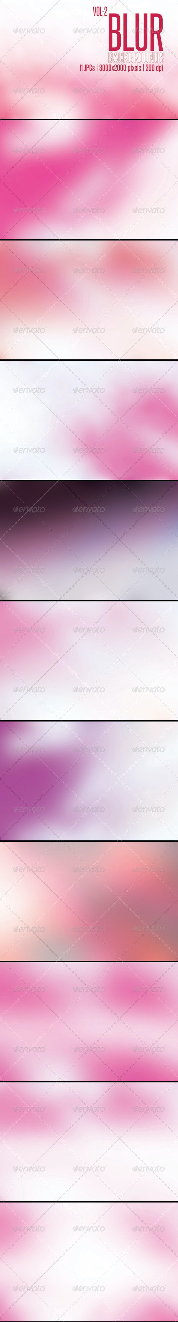 11 Blur Backgrounds Vol-2 - Abstract Backgrounds