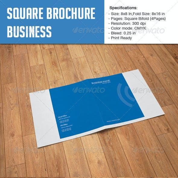 Square Bifold - Business