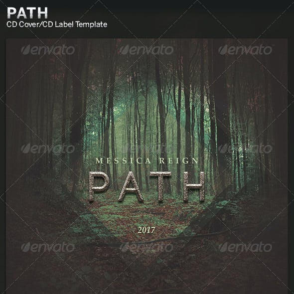 Path: CD Cover Artwork Template