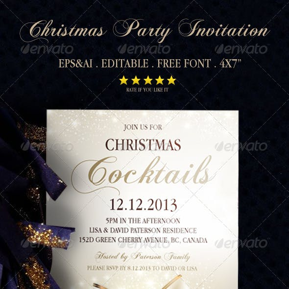 Christmas Party Invitation 1