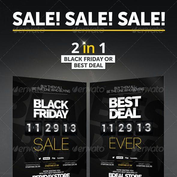 Black Friday, Deal Flyer