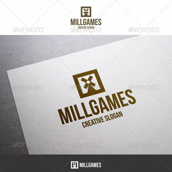 Mill Games Entertainment Logo