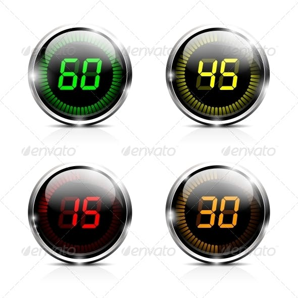 Electronic Countdown Timers