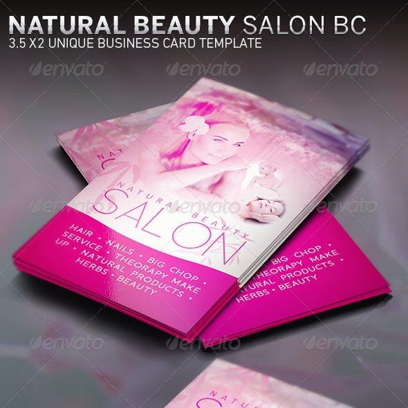 Beauty Salon and Spa Business Card