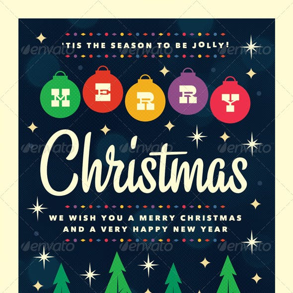 Merry - Christmas Flyer Template