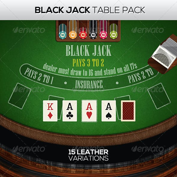 Black Jack Table Pack