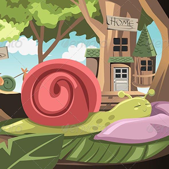 Lazy Snail