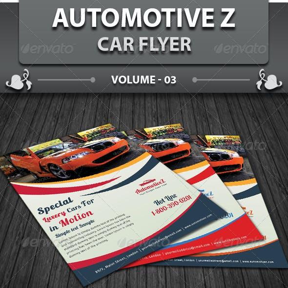 Automobile Business Flyer | Volume 3