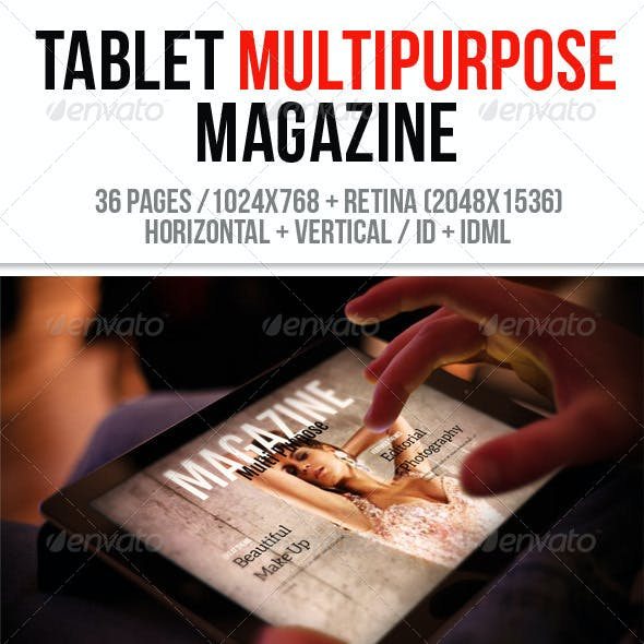 iPad & Tablet Multipurpose Magazine