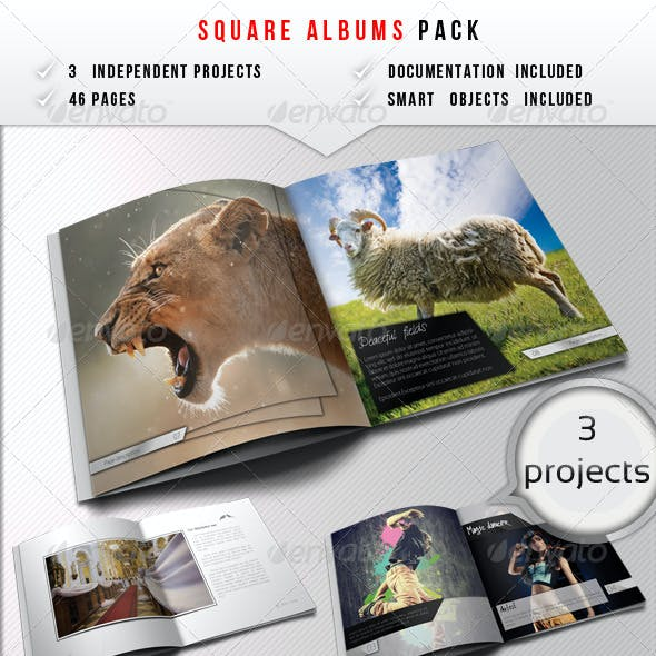 Square Albums Bundle