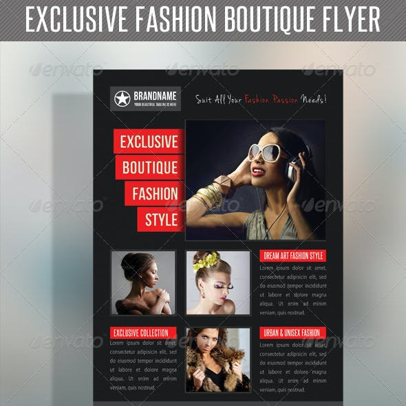 Fashion Product Flyer 17