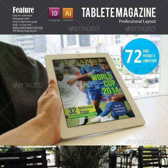 Football - Ipad Magazine Template