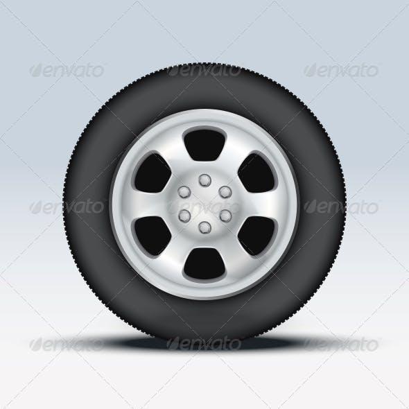 Wheel of Car
