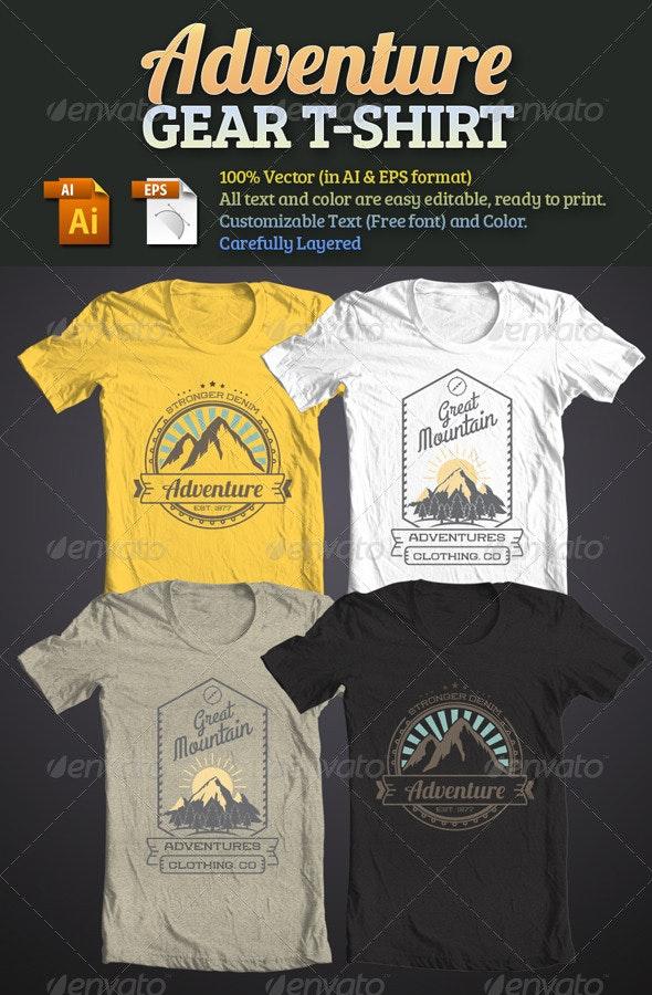 Adventure Gear T-Shirt - T-Shirts