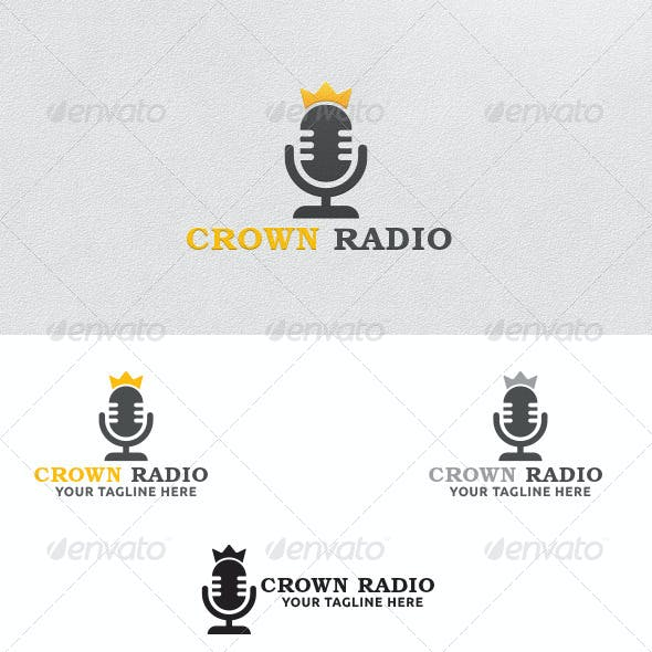 Crown Radio - Logo Template