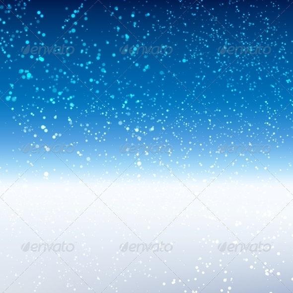 Winter Background - Seasons Nature