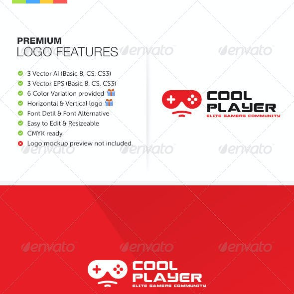 Game Character Logo Templates from GraphicRiver