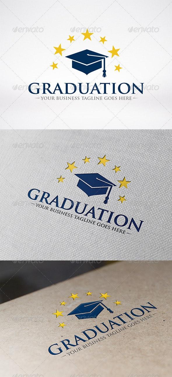 Graduate Logo Template - Objects Logo Templates