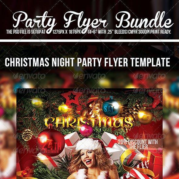 Christmas  Flyer Template Bundle Pack