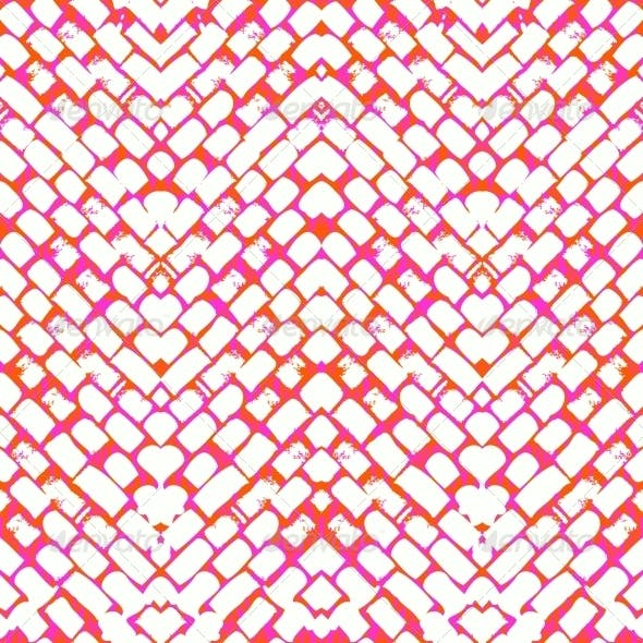 Seamless Pattern with Brushed Lines
