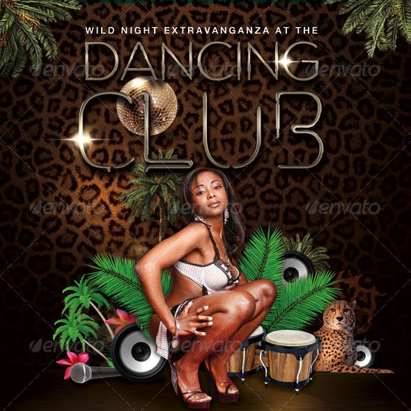 Flyer Dancing Club Wild Night