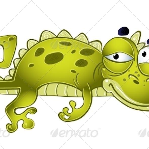 Green Vector Weakening Lizard