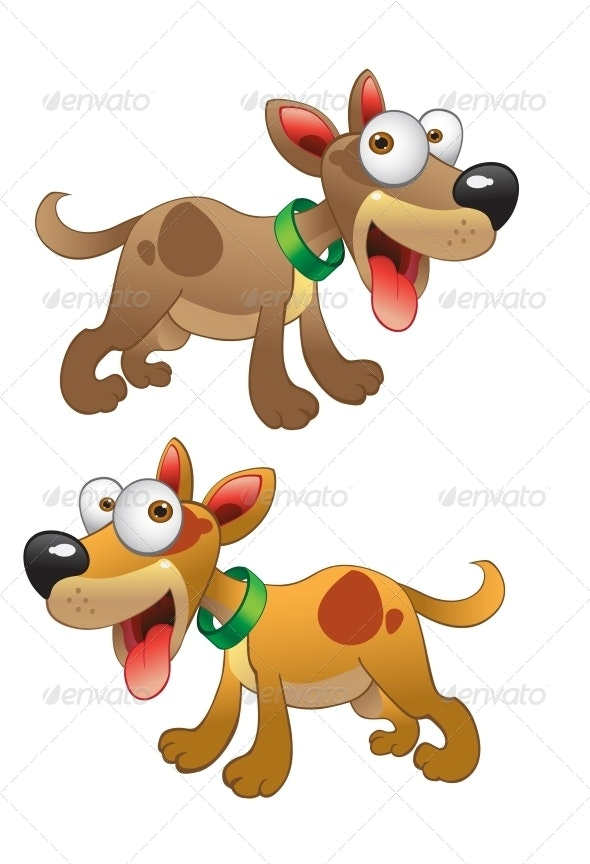 Vector Dogs - Animals Characters