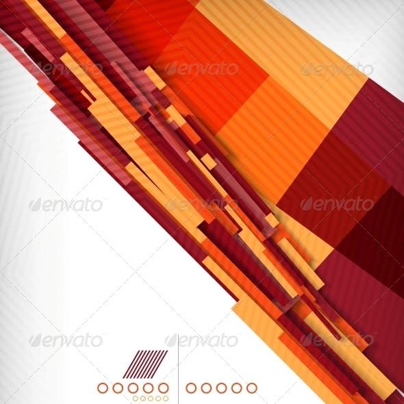 Straight Lines Geometric Shape Background